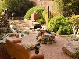 Outdoor Patio Firepit Pit Ideas For Decks Hgtv