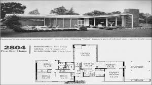 mid century modern tiny house innovational ideas 6 mid century modern home floor plans plan