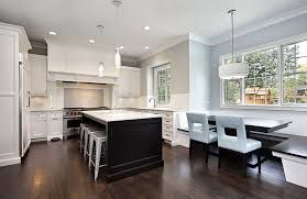 white kitchen cabinets with black island gorgeous contrasting kitchen island ideas pictures designing idea