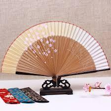 japanese fan japanese fan silk cherry and wind craft ancient mini