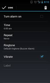 android alarm clock user interface android alarm clock ui stack overflow