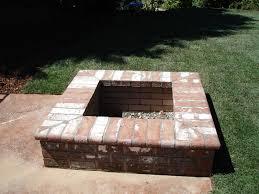 Brick Firepit Square Brick Pit Search Home Pinterest Bricks