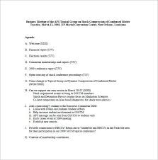 business meeting minutes template 13 free sample example