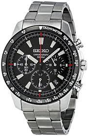 watches chronograph amazon com seiko ssb031 s chronograph stainless steel