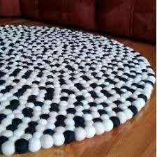 round felt ball rug choose the best rug for your nursery