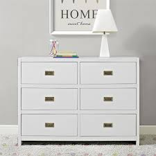 Toys R Us Baby Dressers by Amazon Com Baby Relax Miles 6 Drawer Dresser White Baby