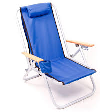 rio brands sc540 4 position aluminum backpack beach chair island