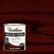 varathane 1 qt 3x black cherry premium wood stain case of 2