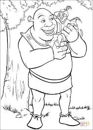 shrek puss boots coloring free printable coloring pages