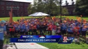 wake up call challenge walk ms cape cod