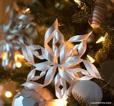 3 d paper snowflakes