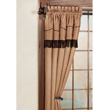 Western Curtain Rod Holders by Spurs Western Decorative Rod Set 44