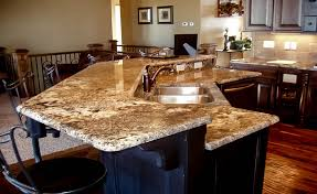Granite Island Kitchen Kitchen Island Granite Edges Taupe Double Ogee Edge To Decor