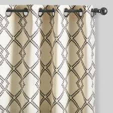 Brown And Ivory Curtains Curtains Drapes U0026 Window Treatments World Market