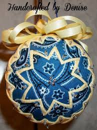 92 best fabric ornaments images on folded fabric