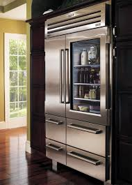 glass front refrigerator residential for the love of a house the