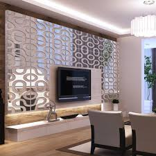 mirror home decor modern design diy acrylic mirror wall home decor 3d wall