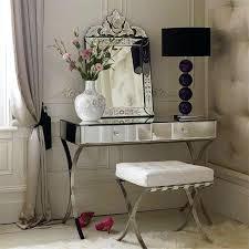 Glass Vanity Table With Mirror Glass Vanity Desk Bethebridge Co