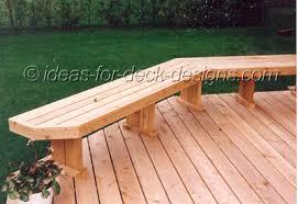 Deck Bench Bracket Woodworking Deck Bench Seating Plans Pdf Download Free Designs For