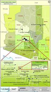 Arizona State Map With Cities by Universities In Arizona Best Colleges In Arizona Az Colleges And