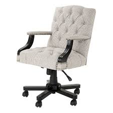 white fabric office chair eichholtz burchell office chair 2 fabric choices
