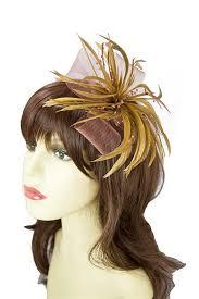 hair fascinators light brown fascinators brown hair fascinators