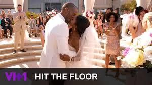 Hit The Floor Jelena And Zero - ahsha u0026 derek get married hit the floor youtube