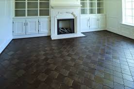 quatrefoil floor tiles transitional living room beckwith