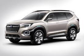 subaru crossover 2016 subaru subaru viziv 7 suv concept 2016 los angeles auto show