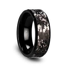 tungsten carbide wedding bands for smokescreen black tungsten carbide wedding ring with engraved