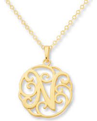 monogram necklace cheap amazing shopping savings jared monogram necklace initial n 14k