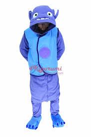 Halloween Onesie Costumes Boov Alien Race Costume Kigurumi Onesies 4kigurumi