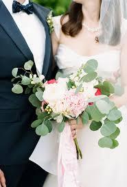 wedding flowers eucalyptus organic wedding bouquet ideas white peonies peony and white