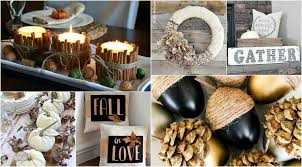 Autumn Decorations Home Fall Decorations To Get Inspired 11 Diy Projects To Bring Shades