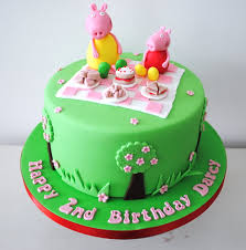peppa pig birthday cakes miss cupcakes archive peppa pig picnic birthday cake