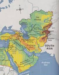 South West Asia Map by Mr Izor U0027s Akins Geography 2017