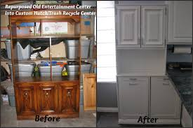 Recycle Kitchen Cabinets by My So Called Diy Blog Repurpose An Old Entertainment Center Into