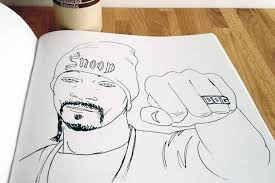 gangsta rap coloring book brit