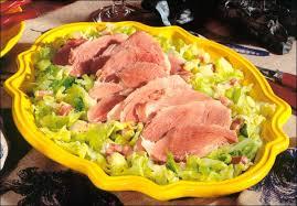 cuisiner palette de porc recette palette de porc à l embeurrée de chou