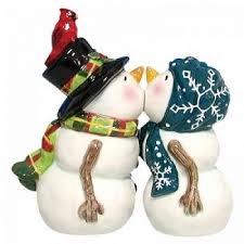 kissing snowmen winter wedding cake topper wedding collectibles