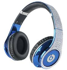 Light Blue Beats The Latest Beats By Dre Studio Electroplating Colorware Chrome
