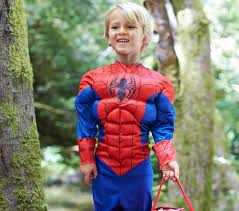 Kids Light Halloween Costume Spider Man Light Costume Pottery Barn Kids