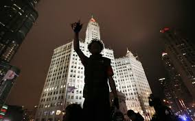 black friday shootings protest over chicago teen u0027s shooting al jazeera america