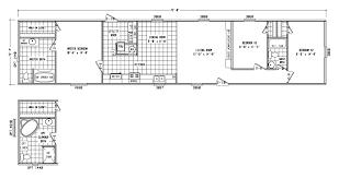 model al16723t manufactured home floor plan or modular floor plans