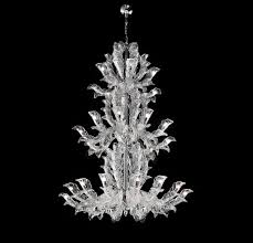 Classic Chandelier by The Venetian Glass Chandelier Is Renewed Fresco Collection