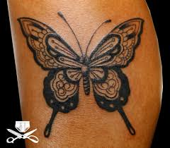 black nice butterfly tattoo tattoos pinterest butterfly