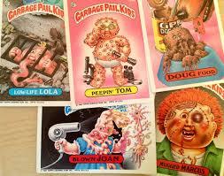 kid cards garbage pail kids garbage worth keeping like totally 80s