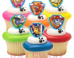 paw patrol cake etsy