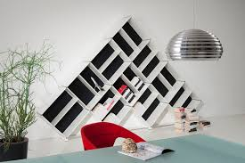 modular bookcase original design mdf pyramid 4 fitting