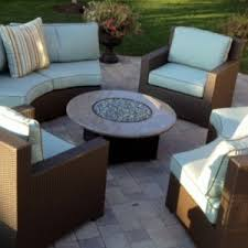Oriflamme Fire Tables Contemporary Style Patio Ideas With Oriflamme Patio Fire Pit Table